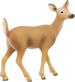 Schleich 14710 White-Tailed Doe Toy Figure, Multicolor