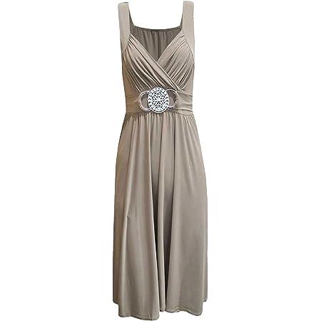 New Women Evening Dress Bridesmaid Buckle Short Elegant Cocktail Plus Size 8-26