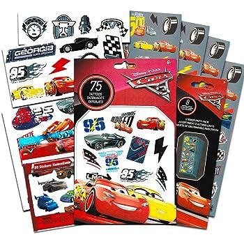 75 Assorted Cars 3 Temporary Tattoos Cars Tattoos