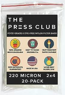 220 Micron   Premium Nylon Tea Filter Press Screen Bags   2