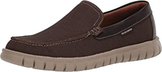 Skechers Men's Moreway-Chapson Slip on Canvas Loafer
