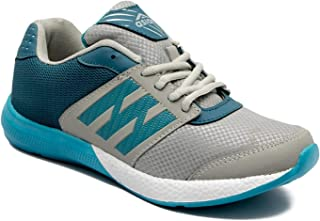 Asian Shoes Marvel-21 Mesh Grey Sky Men's Sports Shoes