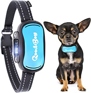 GoodBoy Multimode No Bark Collar for Small, Medium and Large Dogs - Sound, Vibration or Shock Modes Stop Unwanted Barking - Rechargeable Anti Bark Training Device - New 2019 Upgraded Sensor and Chip