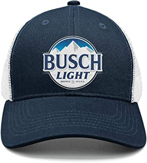 busch beer trucker hat