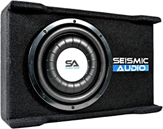 $120 » Sponsored Ad - Seismic Audio - SA-SSCS10 - Shallow Mount 10 Inch 500 Watt Car & Truck Audio Subwoofer Enclosure for Tight ...