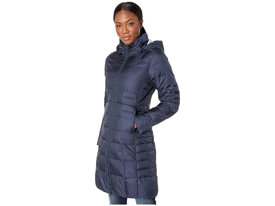 The North Face Metropolis Parka II (Urban Navy/Multi Topo Print) Women's Coat