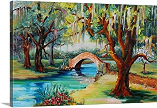 GREATBIGCANVAS Gallery-Wrapped Canvas City Park, New Orleans by Diane Millsap 24