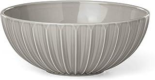 Kate Spade New York Tribeca Platinum Soup/Cereal Bowl, 0.75 LB, Taupe/Grey