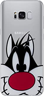 Galaxy S7 Looney Tunes Silicone Phone Case/Gel Cover for Samsung Galaxy S 7 (S7/G930) / Screen Protector & Cloth/iCHOOSE / Sylvester The Cat
