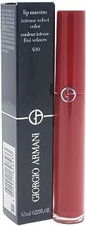 Giorgio Armani Lip Maestro Intense Velvet Color Lip Gloss for Women, The Red, 0.22 Ounce