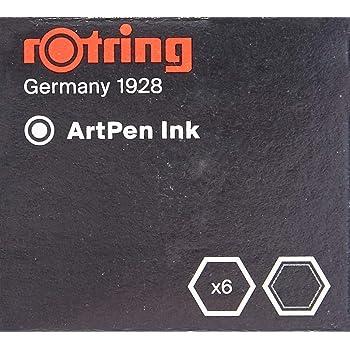 ロットリング アートペンインク 染料系ブラック S0 194-751  [日本正規品]