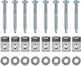 A ABIGAIL Truck Bed Mounting Bolt Nut Hardware Kit Fits 1999-2016 Ford F250 F350 Super Duty Truck Replaces # W706640S900 W706641S900 W708770S436 XC3Z9900038AA 924-311