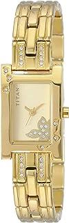 Titan Raga analog Beige Dial Women's Watch NL9716YM01/NN9716YM01