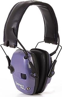 Howard Leight by Honeywell Impact Sport Sound Amplification Electronic Earmuff, Purple