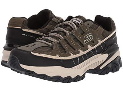SKECHERS M. Fit Max (Olive/Black) Men