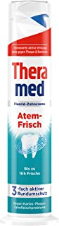 Theramed Toothpaste With Dispenser Fresh Breath Anti-caries From Germany 100ml