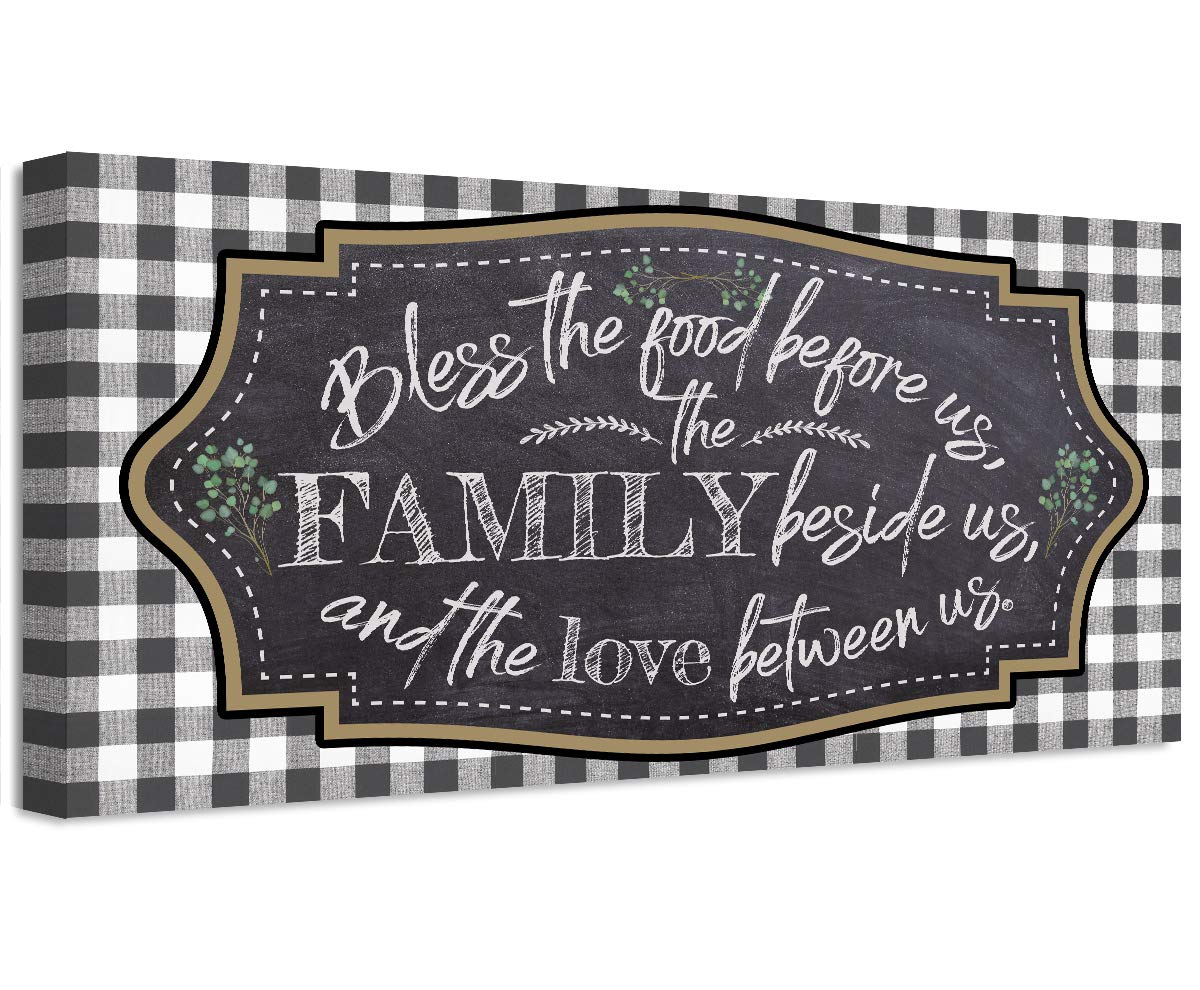 Bless Long-awaited the Food Before us Easy-to-use Between Beside Family Love and