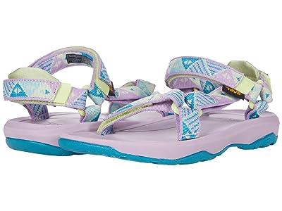Teva Kids Hurricane XLT 2 (Little Kid/Big Kid) (Trapeze Glacial Green) Girls Shoes