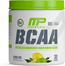 MP Essentials BCAA Powder, 6 Grams of BCAA Amino Acids, Post-Workout Recovery Drink for Muscle Recovery and Muscle Building, Valine Powder, BCCA Post-Workout, Lemon Lime, 30 Servings