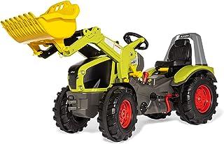Rolly Toys Trettraktor rollyX-Trac Premium Claas Axion 960 für Kinder von 3-10 Jahre, Gangschaltung, Flüsterreifen 651122