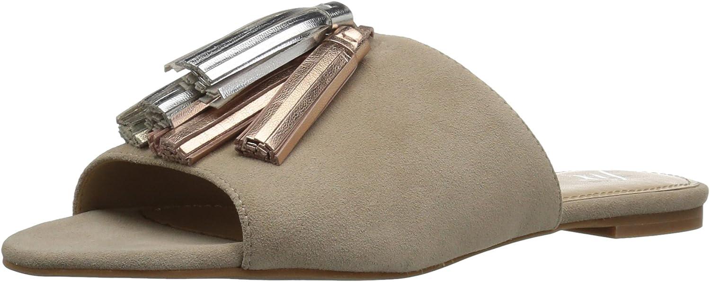 The Fix Womens Foley Tassel Slide Sandal Slide Sandal