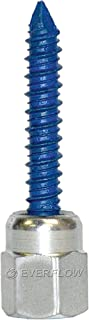 Sammys 8059957-25 Vertical Anchor Super Screw with 3/8 in. Threaded Rod Fitting, 5/16 x 1 3/4, for for Concrete, 25 Piece