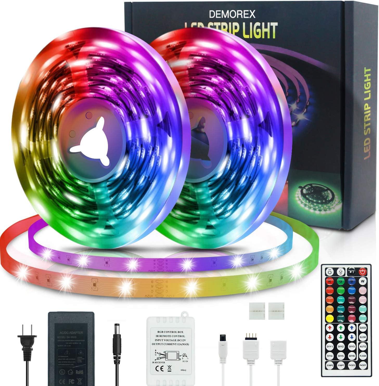 LED Strip Lights Demorex 50ft Finally lowest price popular brand Color Changing 50 Rope