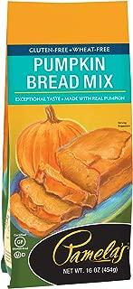 Pamela's Products Gluten Free Pumpkin Bread Mix, 16 Ounce, 6 Count