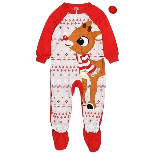 c5fdb44b7 Rudolph the Red Nosed Reindeer Christmas Holiday Family Sleepwear Pajamas  (Adult/Kid/Toddler