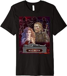 Shakespeare's Macbeth poster art T-shirt