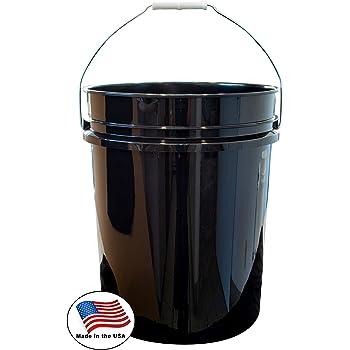 Cubo con tapa 250 ml 10 unidades de pl/ástico color blanco