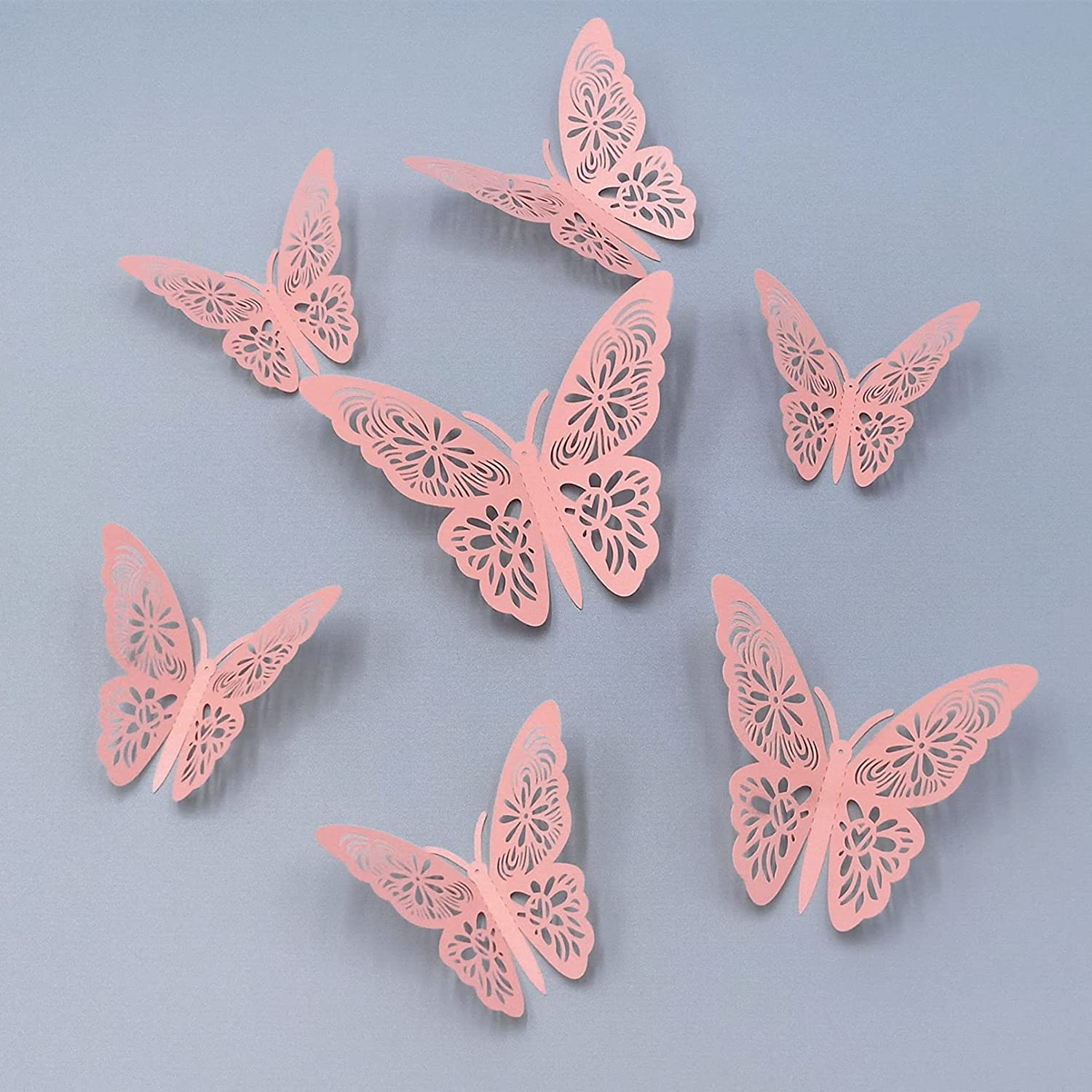24 Pcs Popular products Sale item Butterfly Decor Decorations Wall
