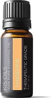 Tangerine (Citrus reticulata blanco var tangerina) Pure Essential Oil Therapeutic Grade 10 Ml