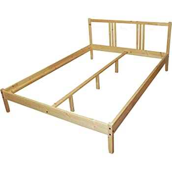 Ikea Fjellse Bed Frame 140 X 200 Cm Solid Untreated Pine Amazon De Kuche Haushalt