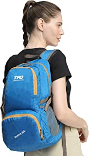 TFO Foldable Backpack Water Resistant Daypack Lightweight Small Hiking Backpack for Travel, Weekend Trips, Camping