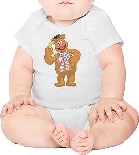 Baby Boys Nursling Short Sleeve Miss-Piggy-Breathable Organic Cotton Playsuit