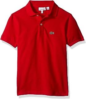 Lacoste Boys' Classic Short Sleeve Petit Piqué Polo Shirt