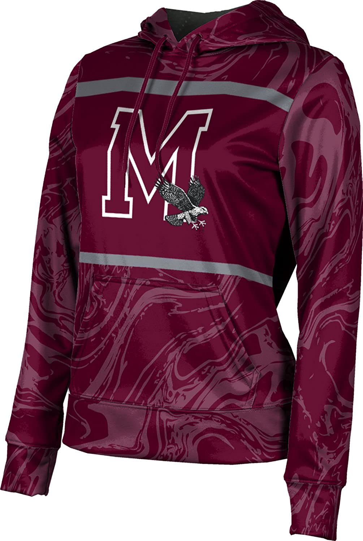 ProSphere University of Maryland Eastern Shore Girls' Pullover Hoodie, School Spirit Sweatshirt (Ripple)