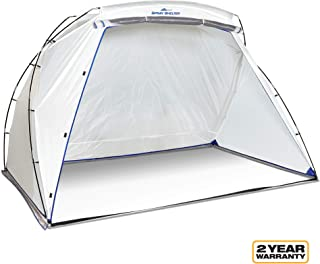 spray paint camping tent