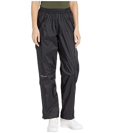 Marmot PreCip(r) Eco Full Zip Pants (Black) Women