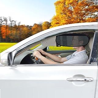 WANPOOL Universelle Auto Sonnenblenden Visierverlängerung für Autos, LKW´s und RV´s   Anti Blend Anti grell Sonnenschutz für Fahrer und Mitfahrer