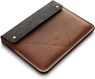 MacBook Pro 13/15 / 16 Zoll Classic Brown Etui/Hülle, 100% Wollfilz 2020 MacBook Air 13 Zoll M1, Gehäuse handgefertigt, ei...