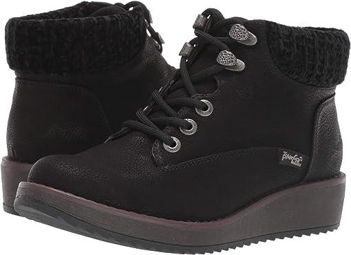 Black Saddlerock PU/Black Vanity Knit