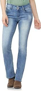 Junior's Instastretch Luscious Curvy Bootcut Jeans, Fiji, 13