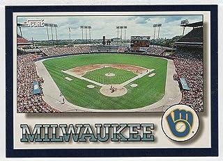 Milwaukee Brewers Stadium Checklist (Baseball Card) 1994 Score # 324 NM/MT