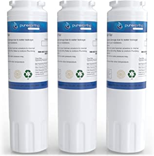 PureSpring NSF 42 Certified Refrigerator Water Filter, Compatible with Viking RWFFR, Maytag UKF8001, KitchenAid 67003523, 4396395, Kenmore 46-9006, PUR Filter 4 & Many Others (3 Pack)