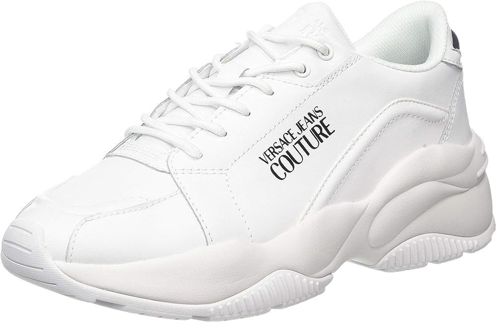 Versace jeans sneakers uomo in pelle E0YUBSI371183