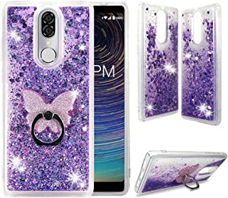 CoolPad Legacy Clear Case, ZASE Liquid Glitter Sparkle Bling Phone Case for CoolPad..