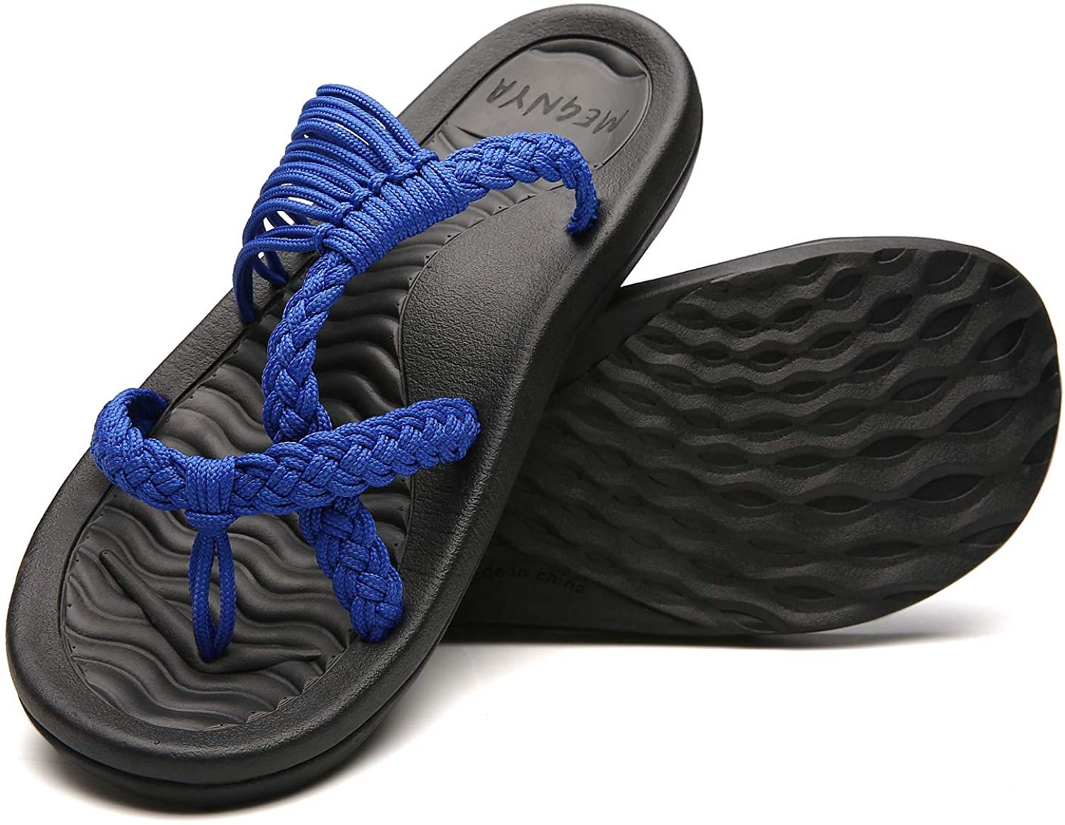 Women's flip Flops Sandals Arch Support,Comfortable Walking Sandals,Water Sandals Perfect for The Beach/Long Walks/Poolside