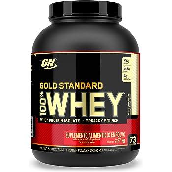 Optimum Nutrition - Gold Standard - Proteina de Suero, Chocolate Blanco 5Lb/2.26Kg